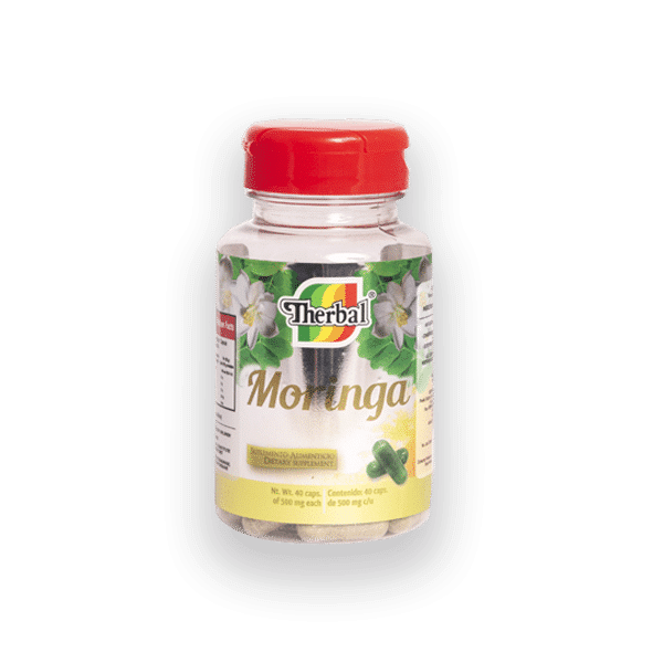 Therbal Moringa 40 Caps 500 mg - Haut Boutique