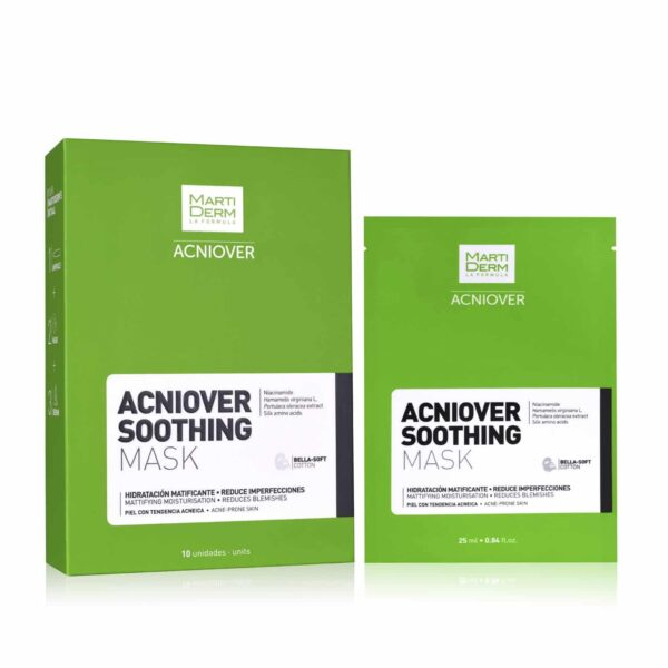 MartiDerm Acniover Soothing Mask 10pzas - Haut Boutique