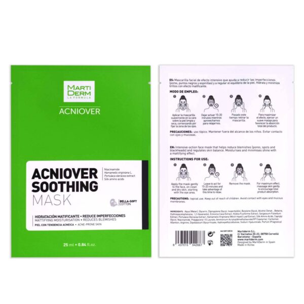 Marti Derm Acniover Soothing Mask 1pza - Haut Boutique