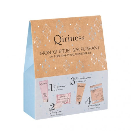 Qiriness My Purifying Ritual Home Spa Kit - Haut Boutique