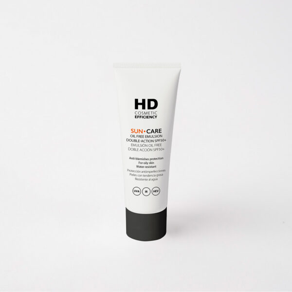 HD Cosmetic Efficiency Sun Care Oil Free Double Action SPF50+ 50mL - Haut Boutique