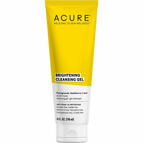 Acure Brightening Cleansing Gel 118mL - Haut Boutique