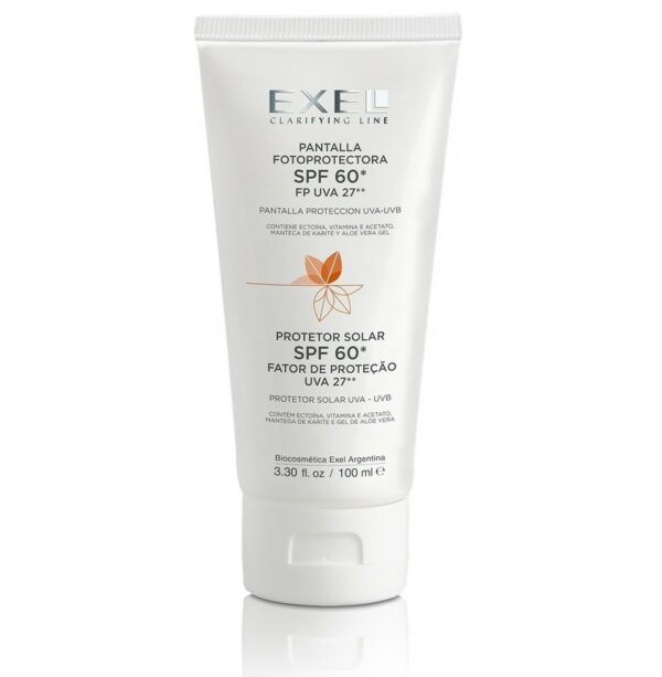 Exel Photoprotection Screen SPF60 100mL - Haut Boutique