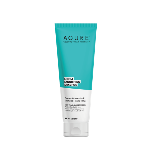Acure Simply Smoothing Shampoo 236.5mL - Haut Boutique