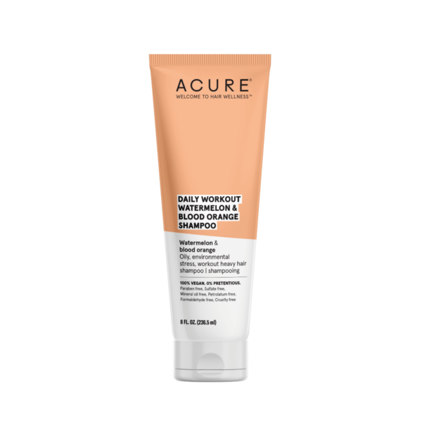 Acure Daily Workout Watermelon and Blood Orange Shampoo 236.5mL - Haut Boutique