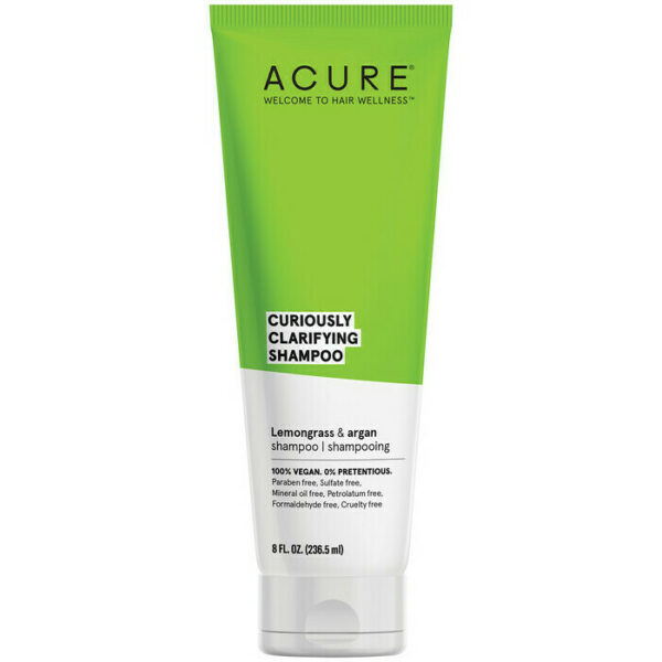 Acure Curiously Clarifying Shampoo 236.5mL - Haut Boutique